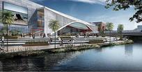 某工业区新市镇未来之眼效果图 JPG