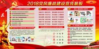 2018党风廉政建设宣传栏