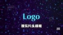 AE动感娱乐Logo片头模板