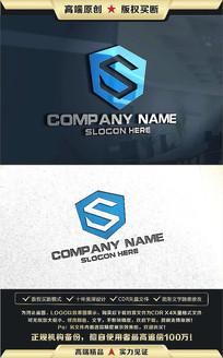 S字母标志公司企业LOGO