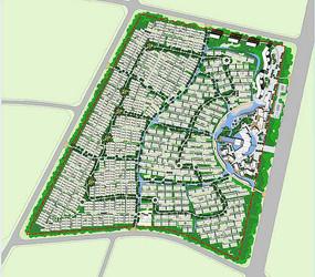 城市规划彩平图