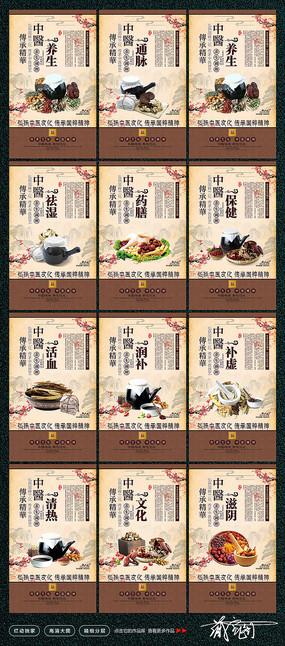 国医馆中医文化宣传展板