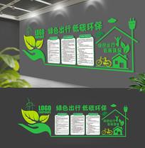 绿色大型环保企业文化墙