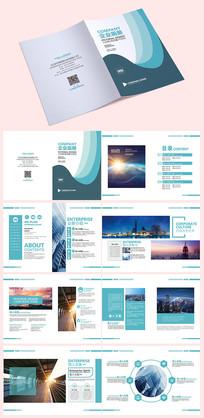 时尚大气商业画册设计