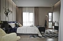 现代前卫风格的卧室