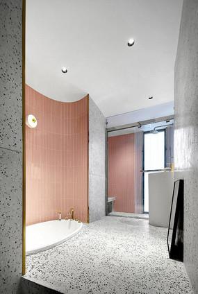现代浴室设计意向