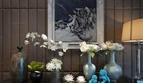 现代中式花艺花瓶装饰品