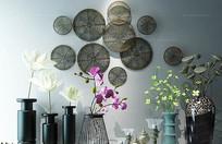 现代装饰墙饰花艺陈设品装饰
