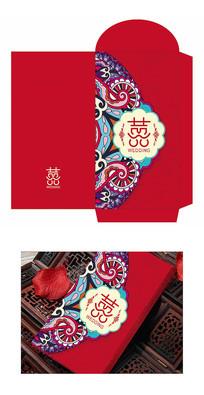 新中式喜庆婚礼红包