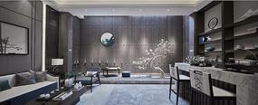 新中式休息区 JPG