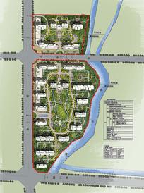 地产规划彩平总设计图