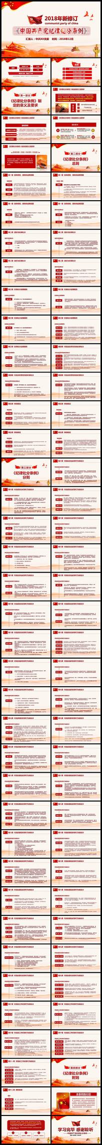 共产党纪律处分条例PPT