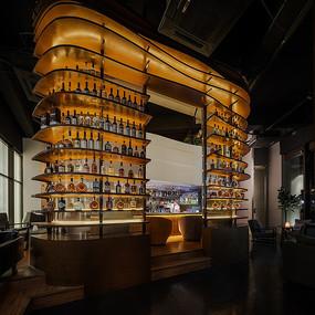 酒吧酒柜设计
