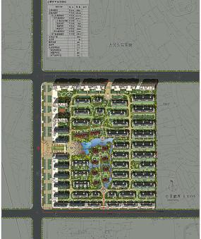 小区设计总平面图