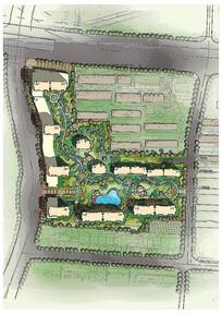 小区园林规划设计图