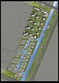 小区园林平规划设计