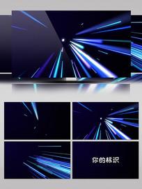 光效线条Logo动画视频