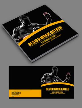 健身俱乐部画册封面设计