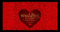 浪漫时尚婚礼展板