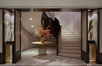 杭州某别墅楼梯间 JPG