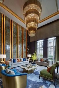 新古典主义风格的客厅 JPG