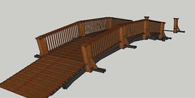 园林木质拱桥