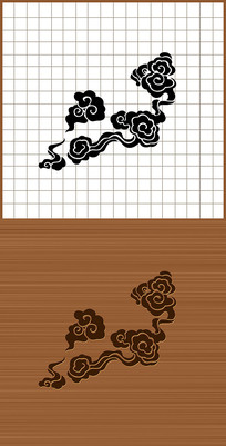 中国传统祥云AI矢量素材图