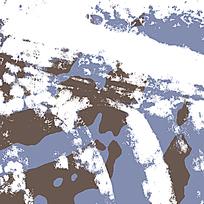 创意海蓝迷彩底纹图案