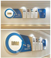 精美科技企业文化照片墙设计