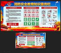 消防安全教育知识宣传栏展板