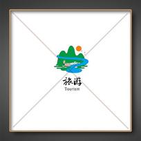 青山绿水旅游标志