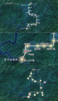 实用城市规划地图线路位置区域视频