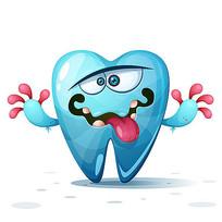 牙齿卡通形象设计