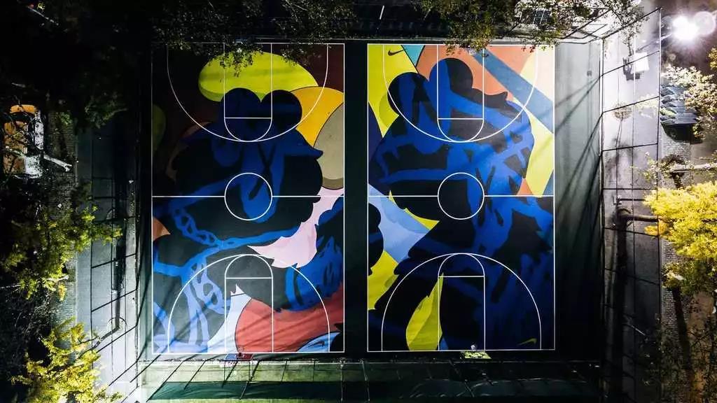 篮球场漫画-篮球赛简笔画-篮球儿童画图片大全-篮球场