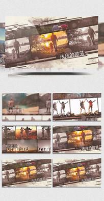 AECC水墨旅游相册展示视频