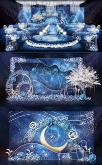 星空月亮主题婚礼(源文件3.44G放百度网盘了)