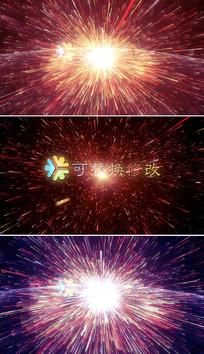 震撼大气粒子爆炸标志AE视频模板