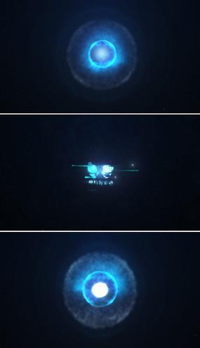 震撼能量爆炸logo片头模板