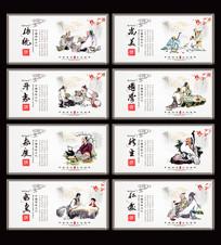 中国古代传统文化展板