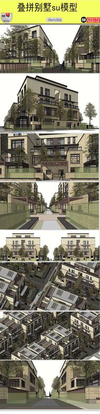 叠拼别墅设计方案