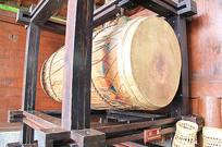 古代庆典活动传统大鼓