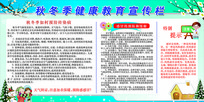 秋冬季健康教育宣传栏