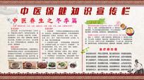 中医保健知识展板