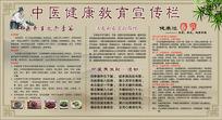 中医健康教育宣传展板