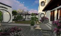 别墅庭院设计 JPG