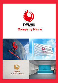 凤凰主题公司标志LOGO