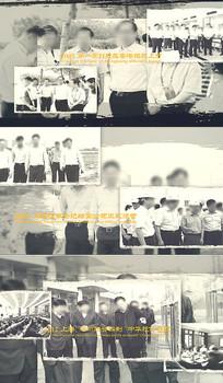 黑白映像企业历史回顾AE模板