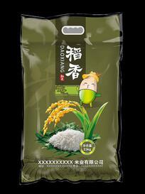 稻香米米袋设计