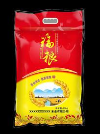 福粮米米袋设计