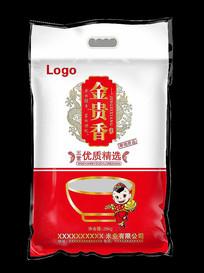 金贵香大米包装设计